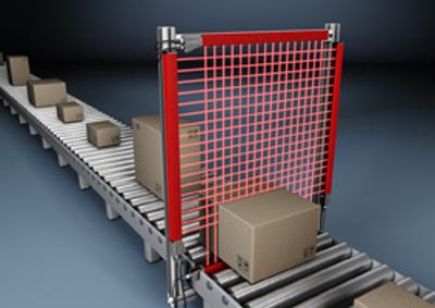 Sistema de lectura de cajas por medio de barreras de medición.
